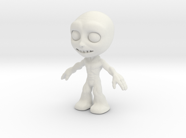MTI Newfella-shapeway-first03 in White Natural Versatile Plastic