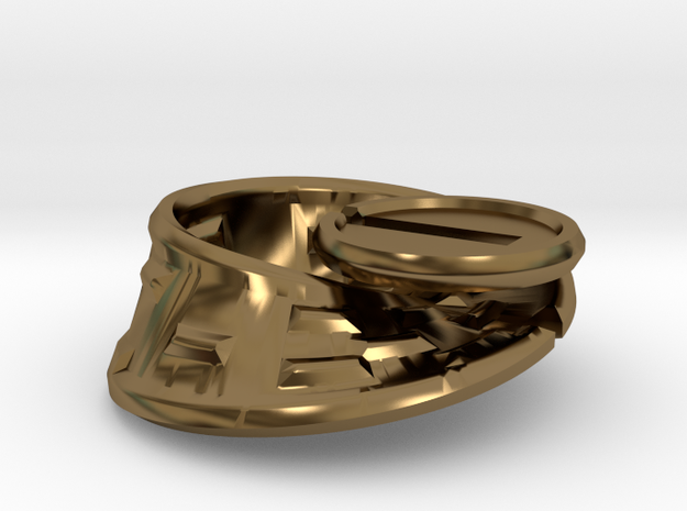 Moby Maze - metal 3d printed