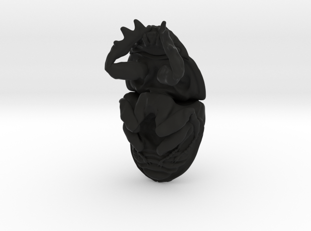 Dung Beetle Pendant 1.8cm - style 2 3d printed