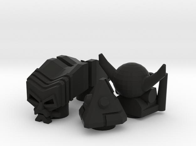 4 Robo Heads (4.9mm port) 3d printed