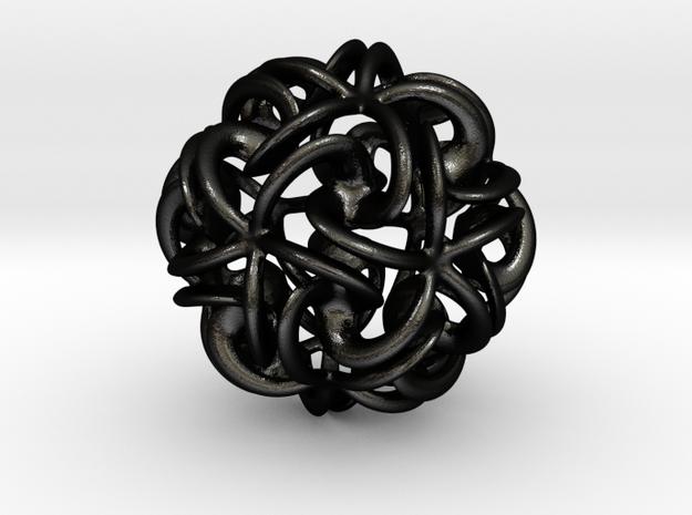 "Conjunction Junction Pendant - 25mm (1"") 3d printed"