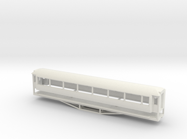 AO Carriage, New Zealand, (S Scale, 1:64)