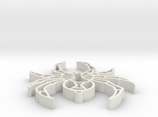 widow keychain 3d printed