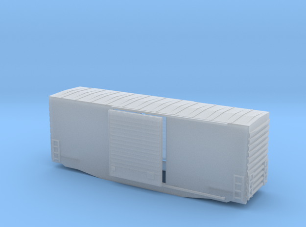 TT high cube 40 foot boxcar in Smooth Fine Detail Plastic