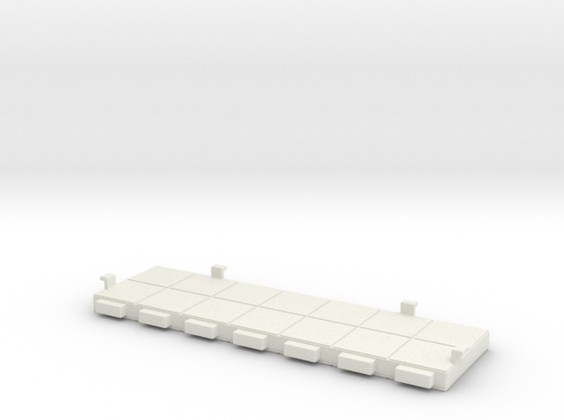 Rokenbok Wall 2x7 in White Strong & Flexible