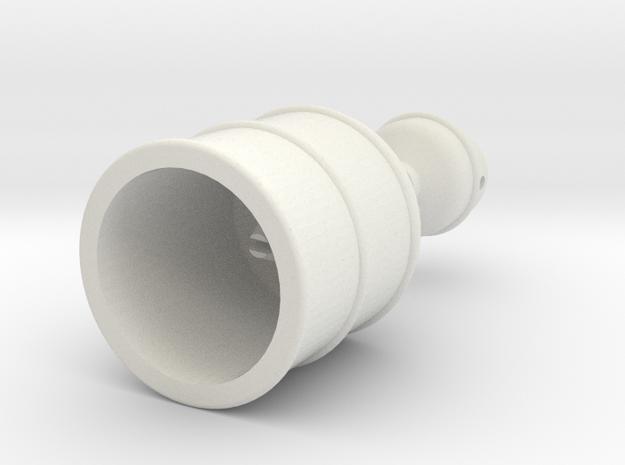 Rokenbok Oil Change Pan in White Strong & Flexible