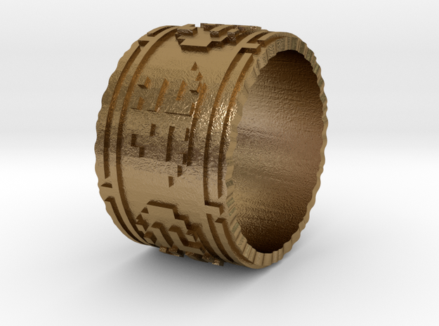 Journey Ring 7.5 3d printed