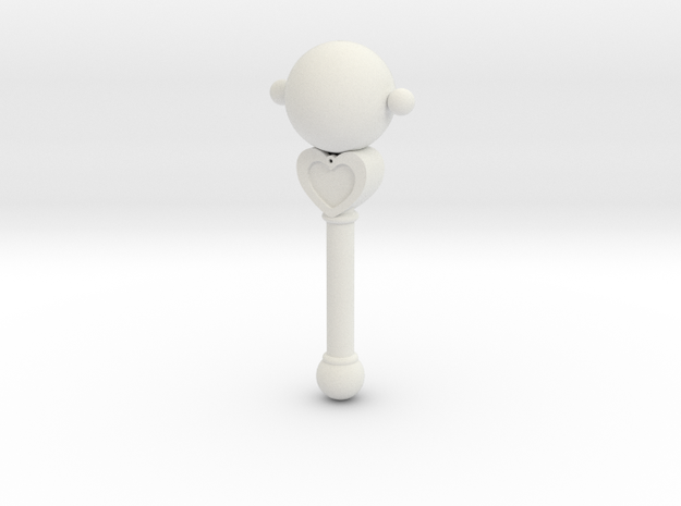 Pluto Transformation Rod 3d printed