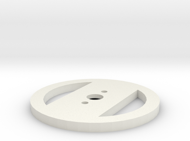Motorhalterung - Version 3 in White Strong & Flexible