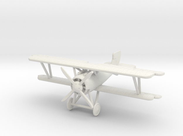SSW D.III 1:144th Scale in White Natural Versatile Plastic