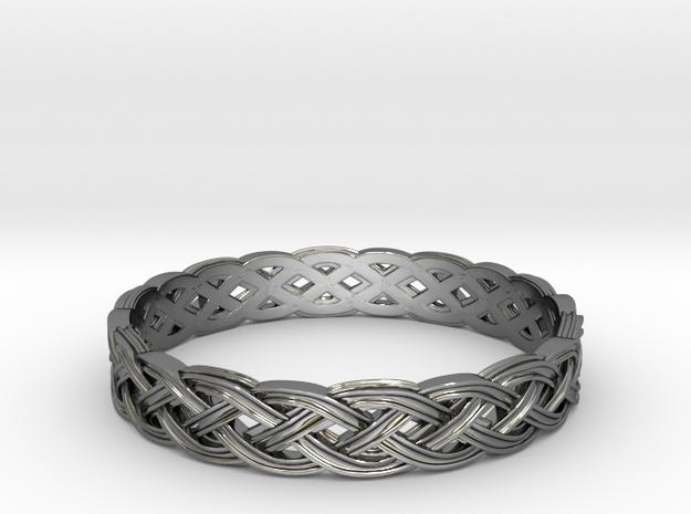 Hieno Delicate Celtic Knot Size 8.5 in Premium Silver