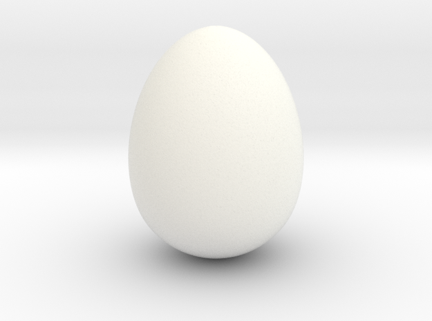 Cow bird egg smooth