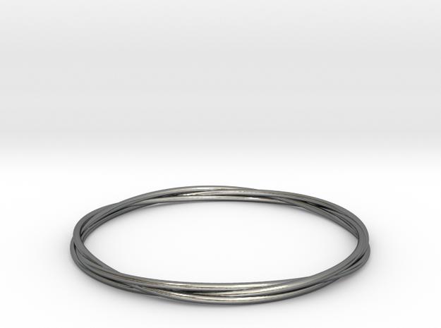 Three loops bangle