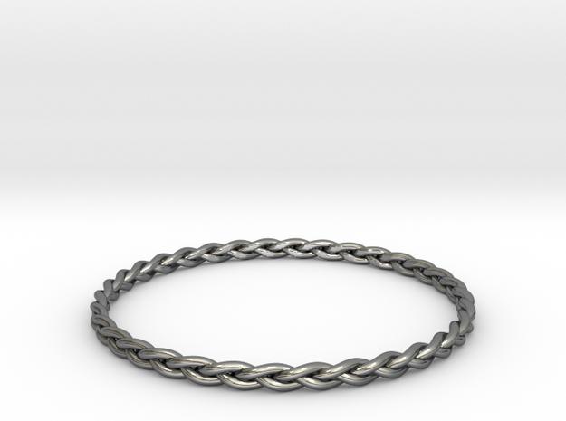 Braid bangle 3d printed