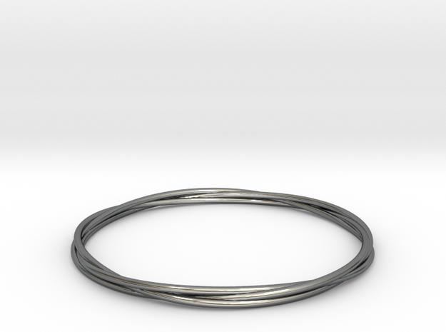 Three loops bangle 3d printed
