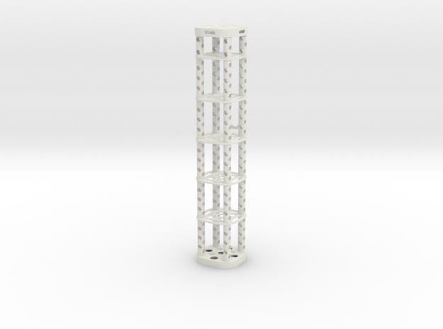 NMR Tube Holder Mark IV in White Strong & Flexible