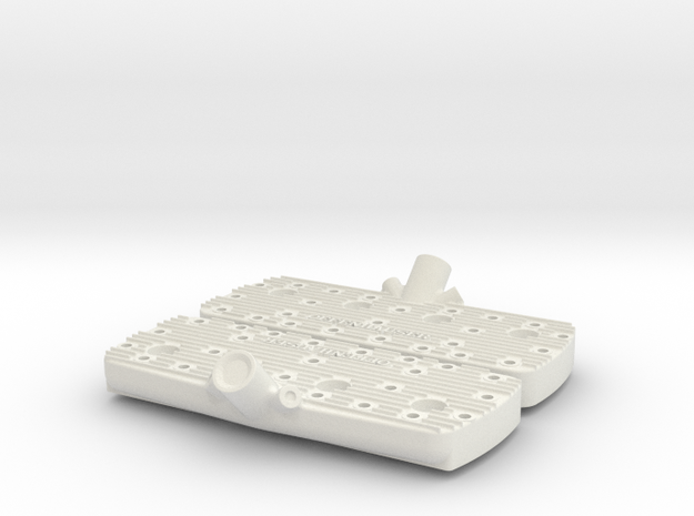 1/8 Flathead Offy Head Kit 3d printed