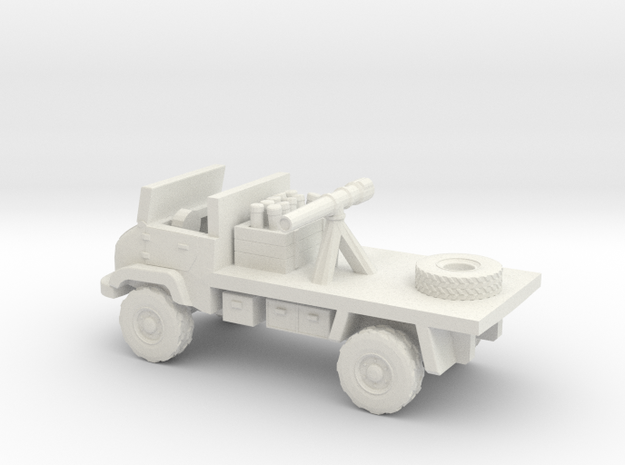 1:144 UNIMOG 404S Recoilless Rifle Carrier 3d printed