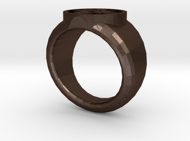 Star Sapphire Ring 3d printed