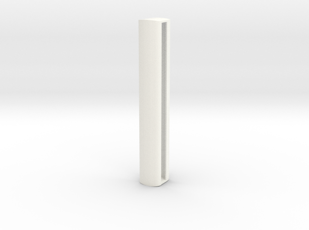 GWR Bow Ended Shell (57ft) in White Processed Versatile Plastic
