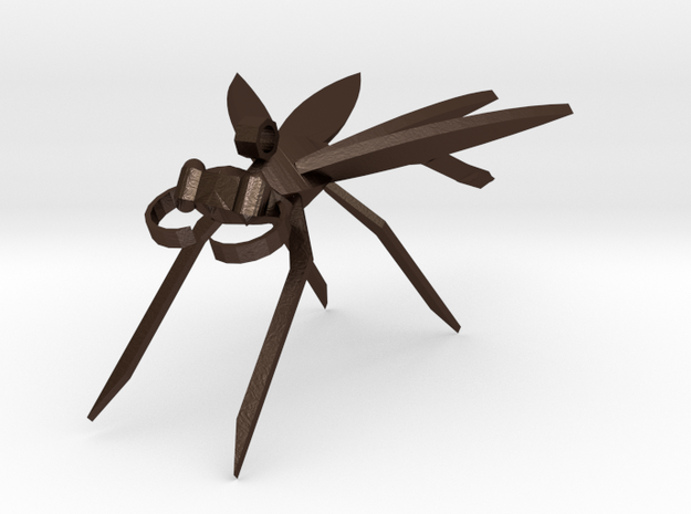 Dragonfly Earring 3d printed