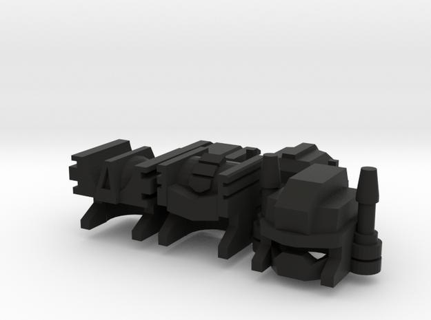 Civic Defender Bots (Fireman Helmet Ed.) 3d printed
