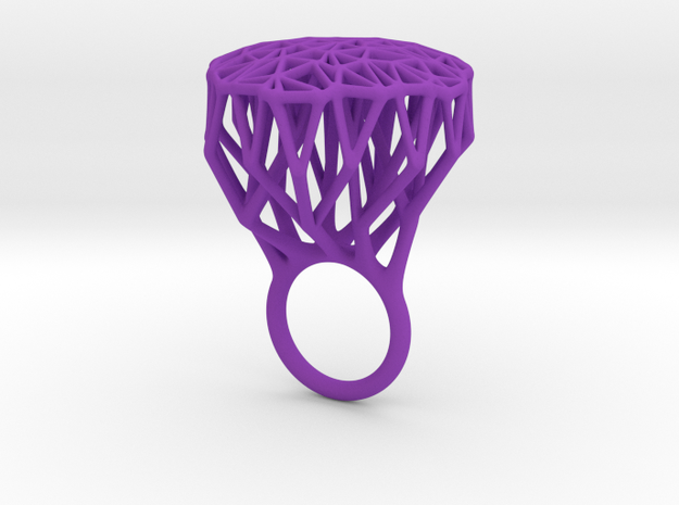 Ring Tree V4 18mm 3d printed