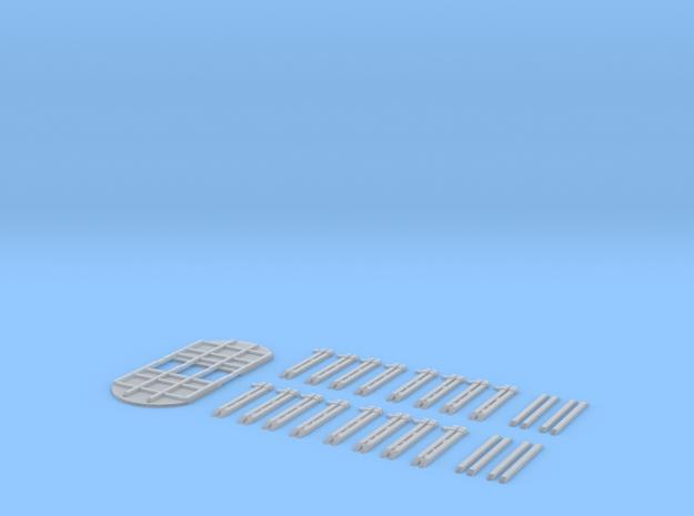 Roos Holztransport TT 1/120 ; 1:120 in Smooth Fine Detail Plastic