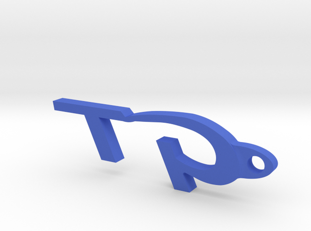 Gt Keychain 3d printed