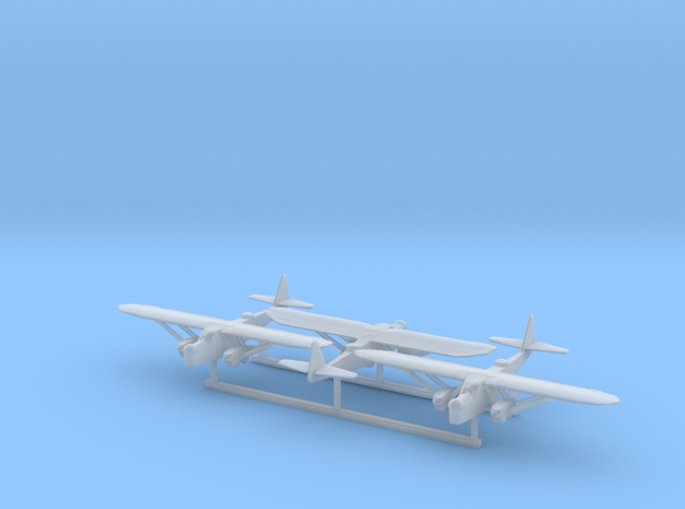 1/600 Potez 540 x 3 in Smooth Fine Detail Plastic