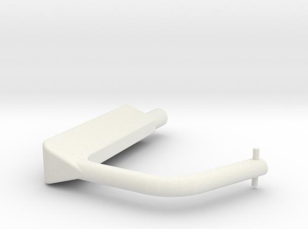 E98 Switch Guard in White Natural Versatile Plastic