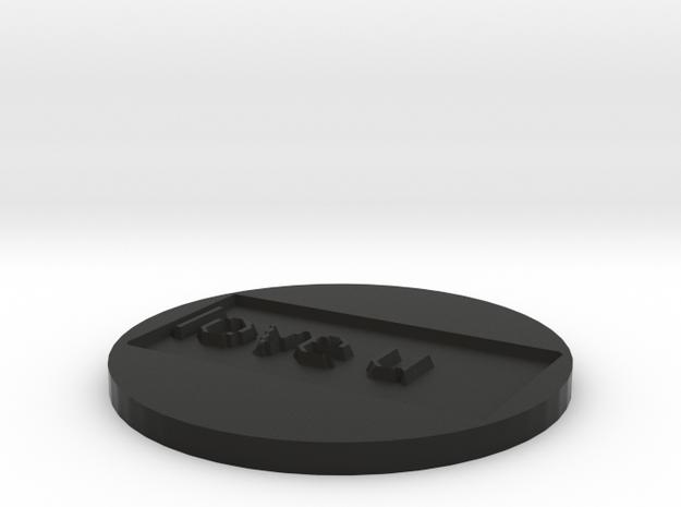 by kelecrea, engraved: love u 3d printed