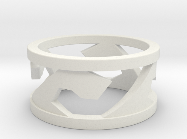 Surf/Wave Ring 3d printed