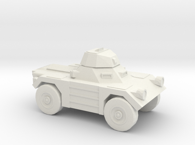 1:144 Daimler FERRET in White Natural Versatile Plastic