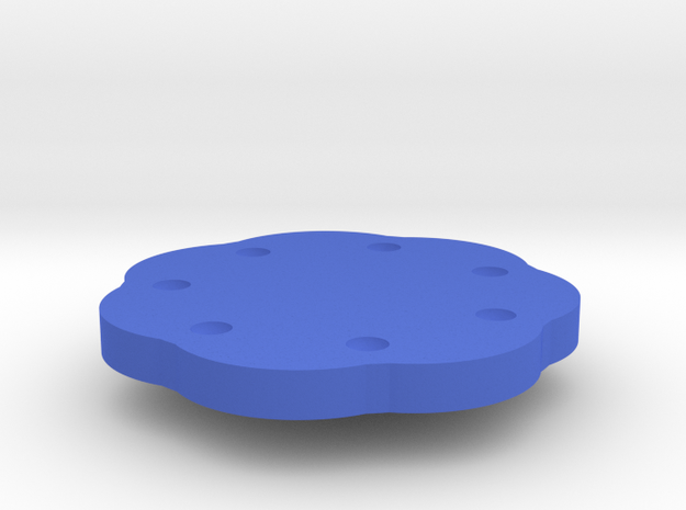 Large knob for potentiometer or rotary encoder wit 3d printed