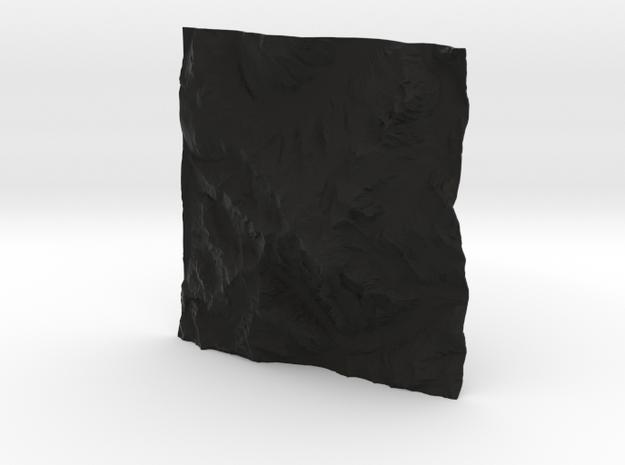 8''/20cm Mt. Blanc, France/Italy 3d printed