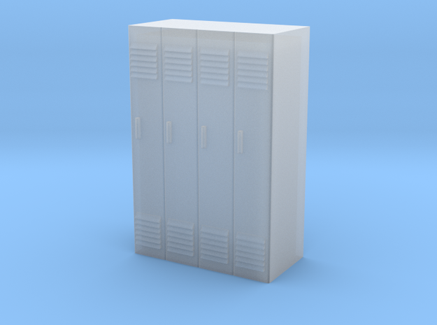 Lockers - 1/87 (HO Scale) in Smooth Fine Detail Plastic