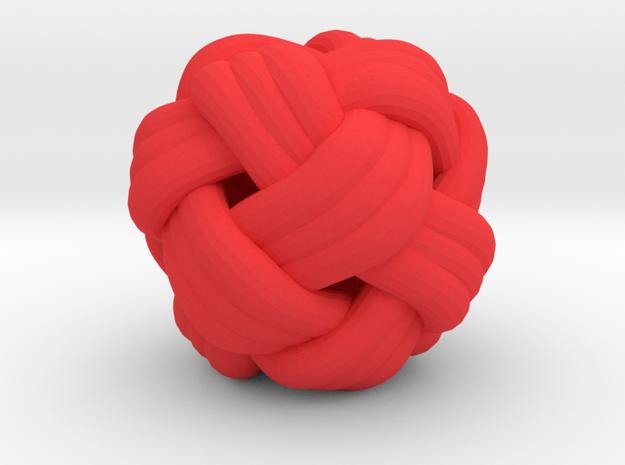 Tiny Turks Head Knot 3d printed