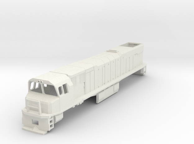 1:64 NZR DXR Original Cab in White Natural Versatile Plastic