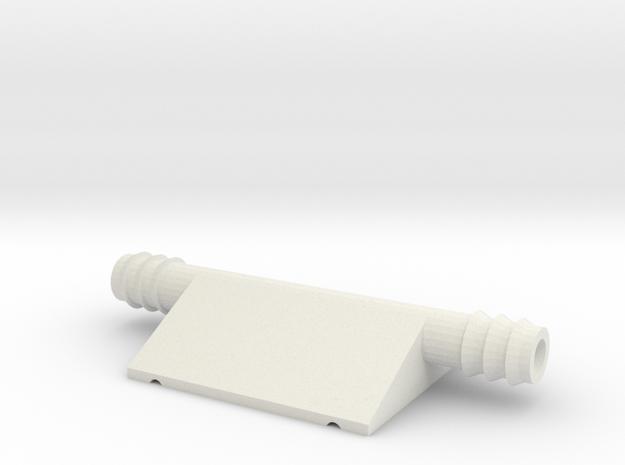 PeltierMount in White Natural Versatile Plastic