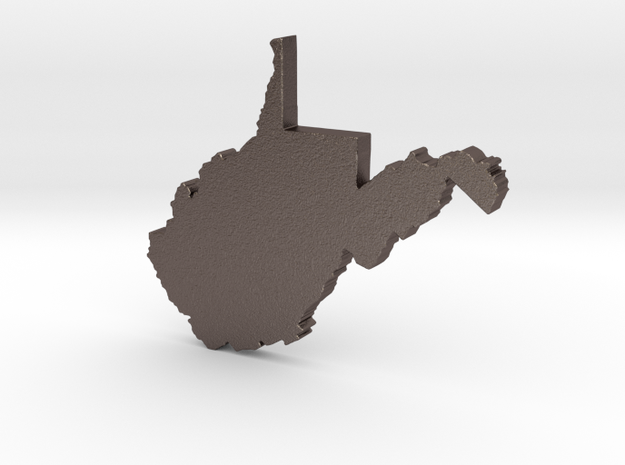 Country Roads in Polished Bronzed Silver Steel