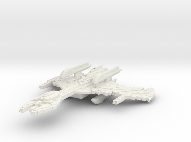 K'Crow Class HvyAssaultCarrier in White Strong & Flexible