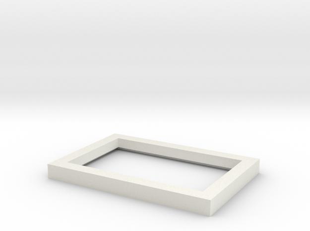 Light Diffuser for Visor Mirror in White Strong & Flexible