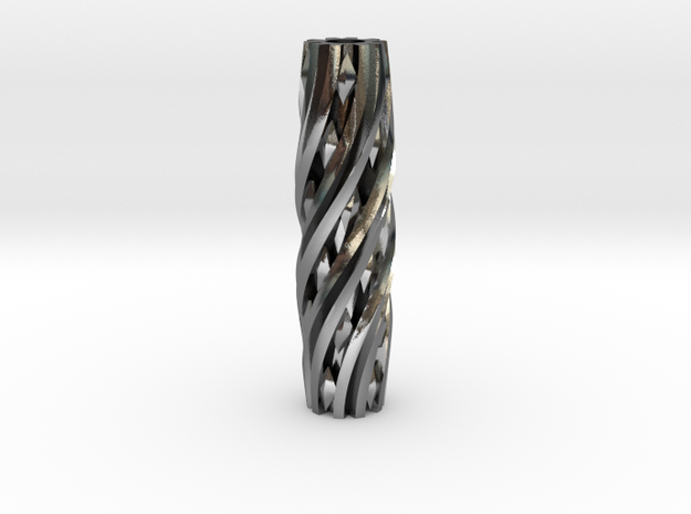 Razor Handle (Twisted Diamonds) 3d printed