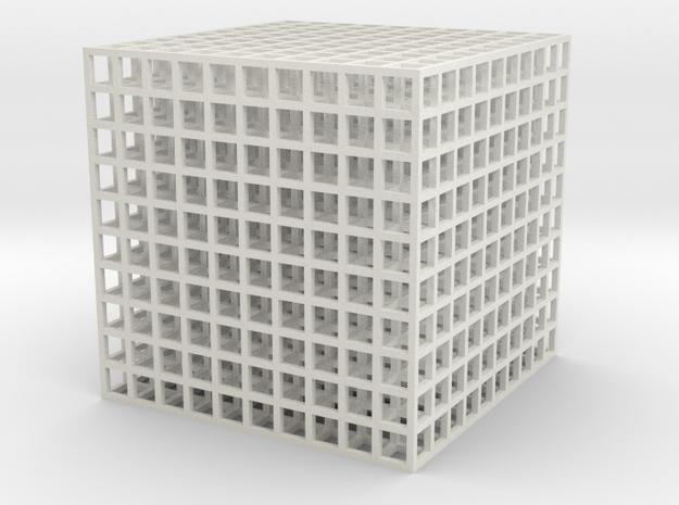 grid 50% 3d printed