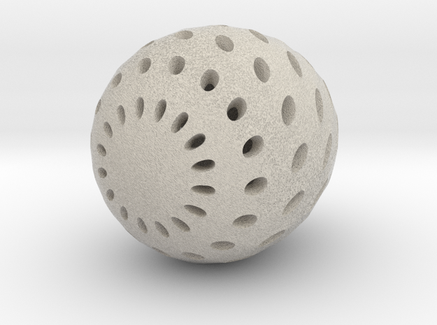 Egg in Natural Sandstone
