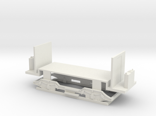 chassis A1001NZHTM in White Natural Versatile Plastic