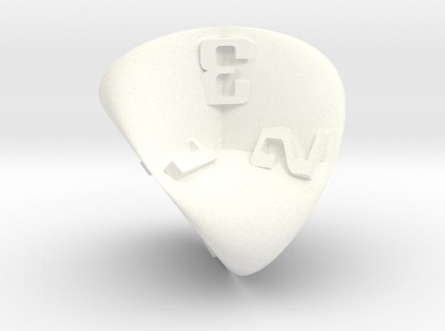 Roman Surface d4 in White Processed Versatile Plastic