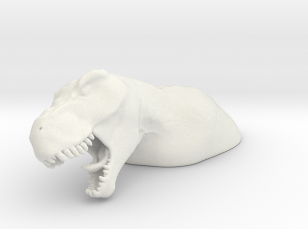 TRex in White Strong & Flexible