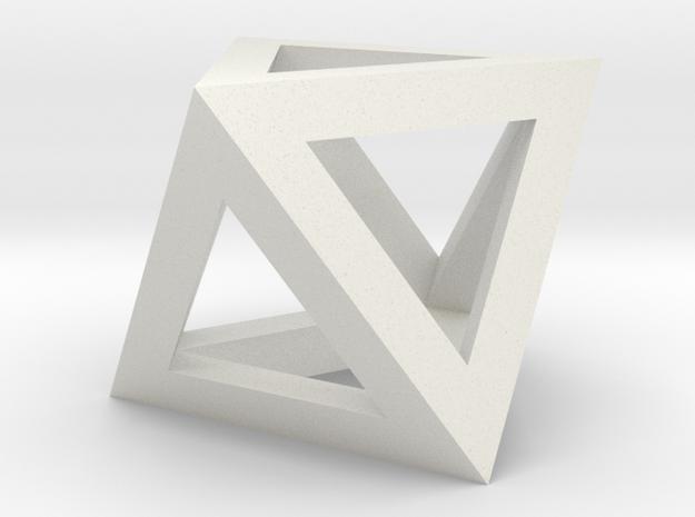 oktaeder kante 3d printed